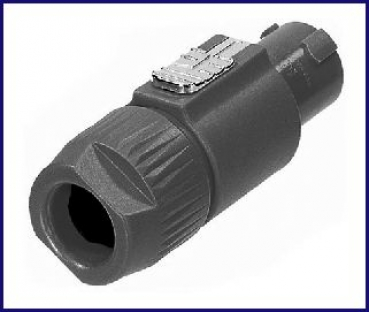 Neutrik-Powerconnector, female, Stecker