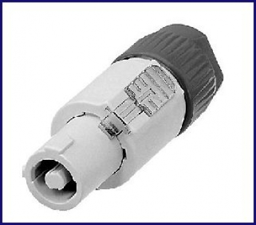 Neutrik-Powerconnector, male, Stecker