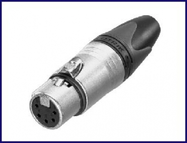 Neutrik-XLR, 5-polig, female, Stecker
